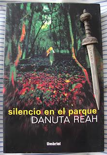 Portada del libro Silencio en el parque, de Danuta Reah