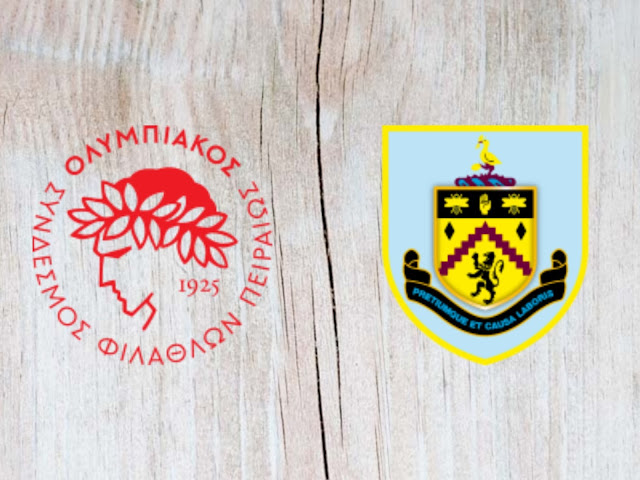 Olympiacos vs Burnley - Highlights - 23 August 2018
