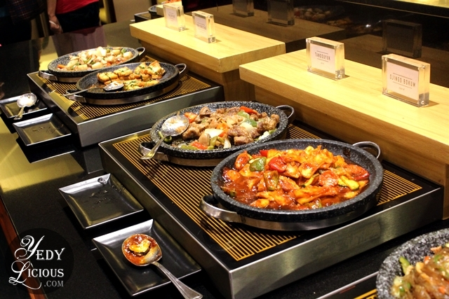 Different Cuisine Selections at Sambo Kojin SM Megamall Buffet