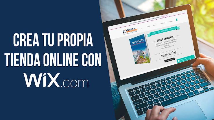 Cómo crear una tienda online con Wix