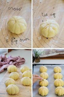 Công thức làm bánh mì bí đỏ hấp dẫn ngọt ngào 6