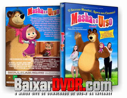 Masha e o Urso O Filme (2017) DVD-R OFICIAL
