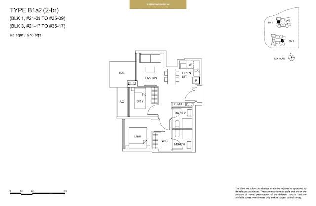 Sky Vue Type B1a2 Floor Plan