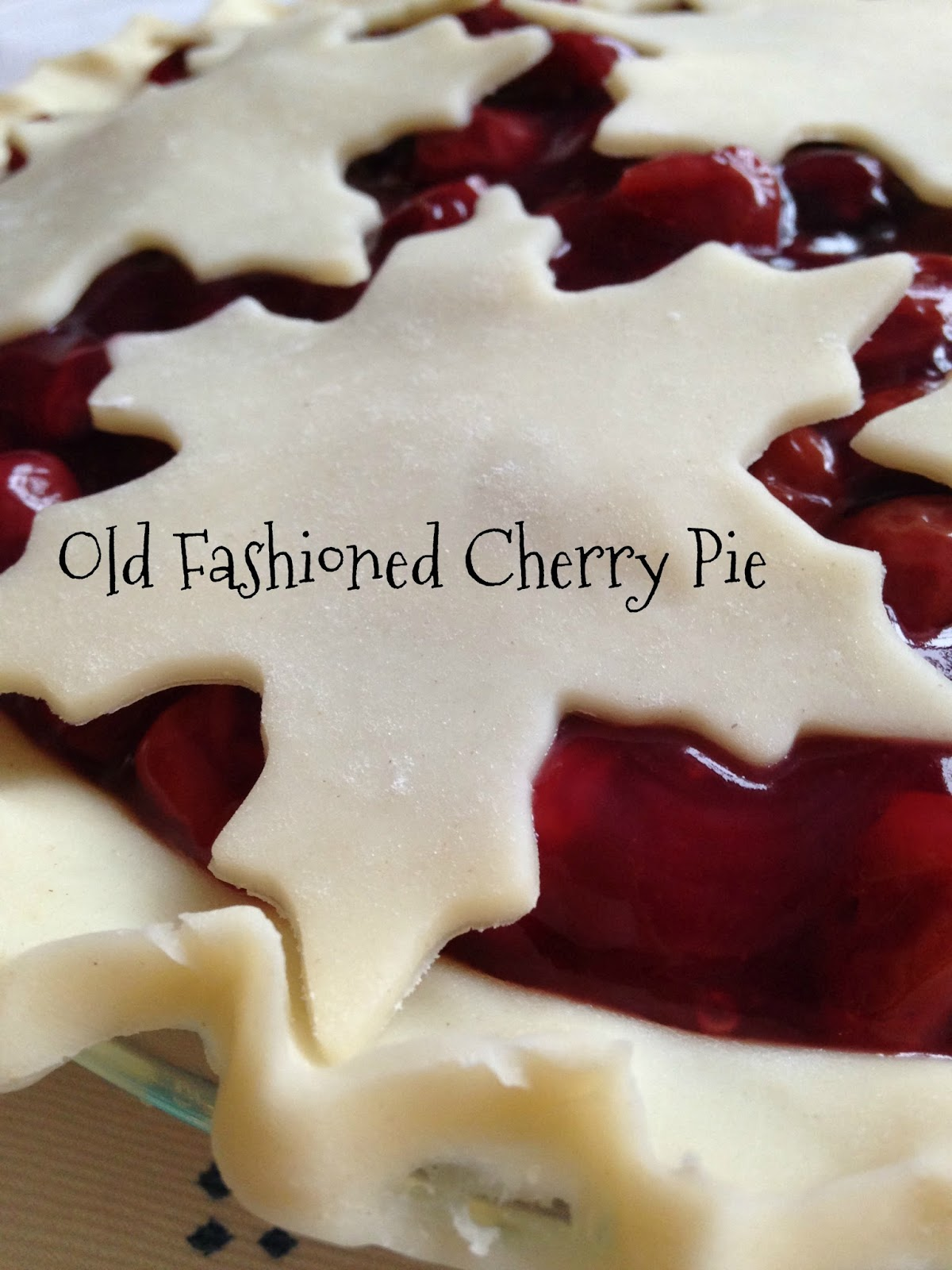 Turnips 2 Tangerines: Old Fashioned Cherry Pie with ...