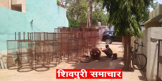 अनूठी पहलः मुक्तिधाम तक नंगे पैर चलने बालों को राहत देने समाज सेवी अर्पित ने उठाया बीणा | Shivpuri News