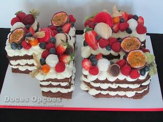 bolo numero fruta bragança