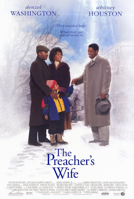 The Preacher's Wife 1996 Denzel Washington Whitney Houston Courtney B. Vance