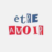 Les verbes être et avoir au présent de l'indicatif en français.