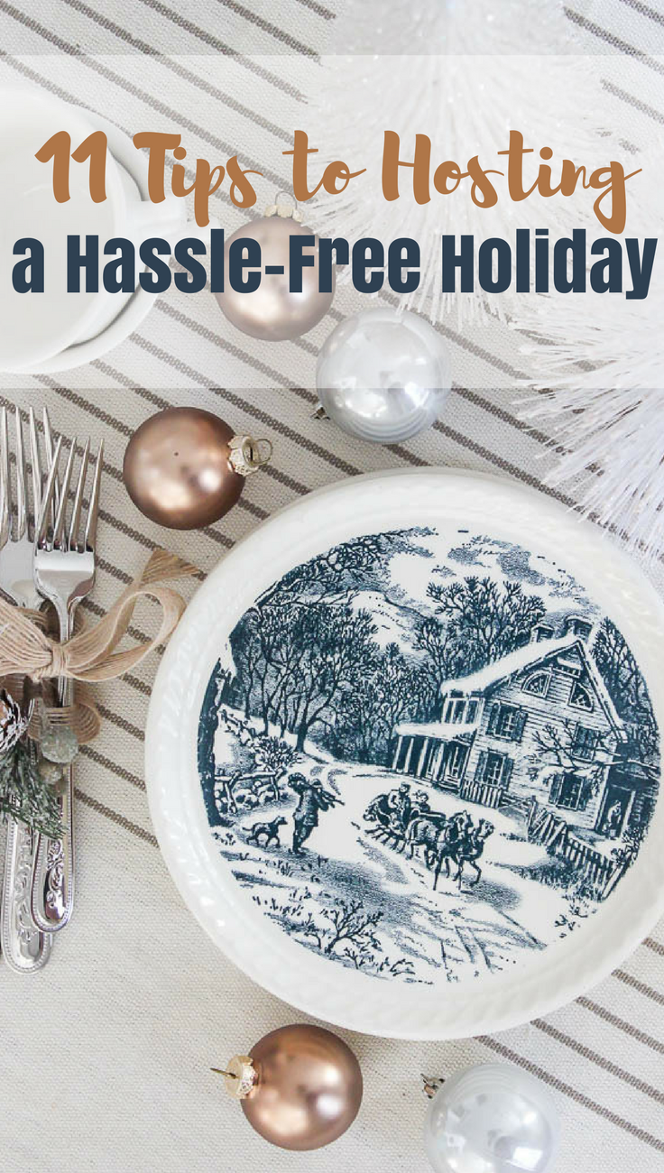 tips to hosting the holidays