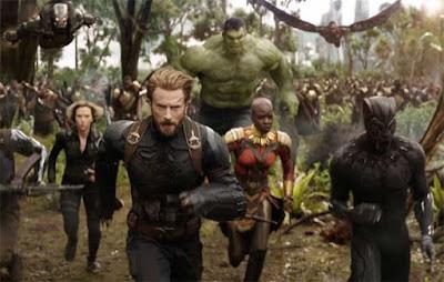 Una imagen de Avengers: Infinity War'