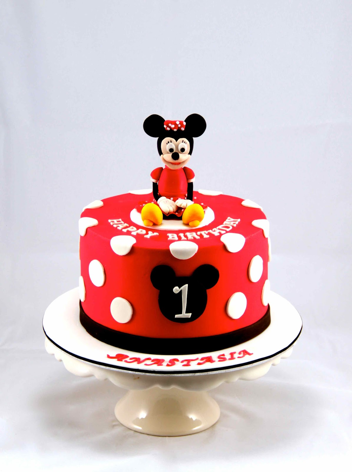 Bakerz Dad Minnie Mouse Cake
