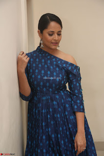 Anchor Anasuya in a Blue Gown at Jai Lava Kusa Trailer Launch ~  Exclusive Celebrities Galleries 057.JPG
