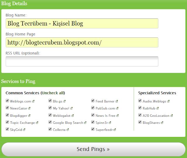 Blog Ping