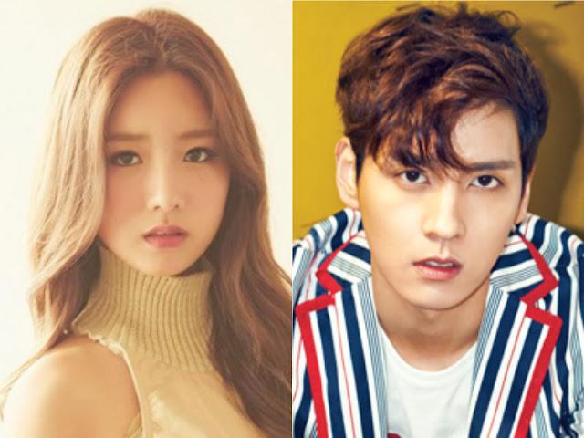 Dikonfirmasi Menjadi Pengantin Baru 'We Got Married'Bomi A Pink dan Choi Tae Joon