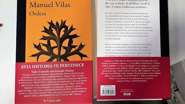 Manuel Vilas Vidal, Novela memorialista