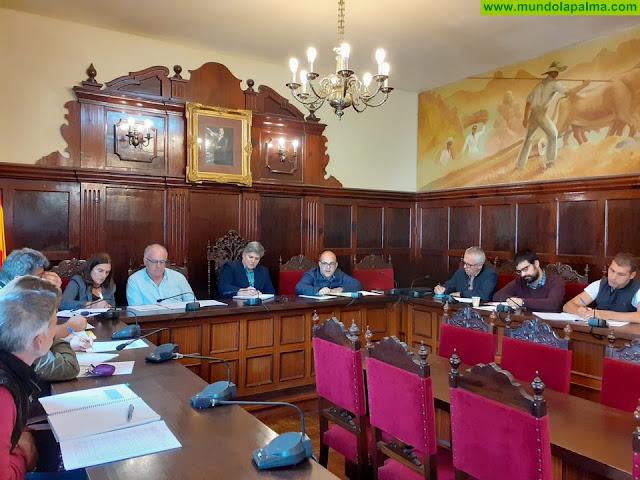 El Cabildo y el Ayuntamiento afrontarán obras para mejorar las conducciones de la red de agua en Los Llanos de Aridane