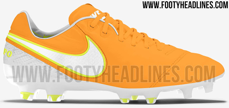 Orange Nike Tiempo Legend VI 2017 Women s Boots Leaked - Leaked ... b6728b4e2