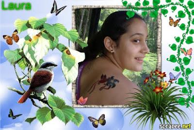Montagem de foto no site Scrapee