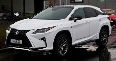 Review Of Lexus RX F Sport