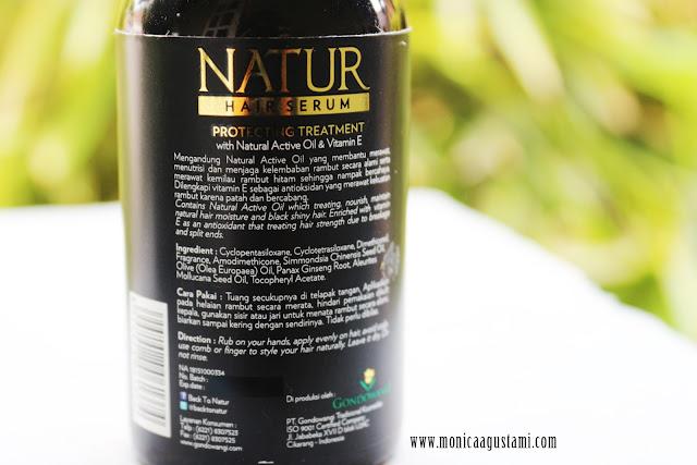 Review Natur Hair Serum
