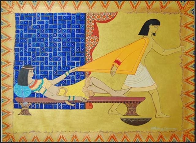 José e a esposa infiel de Potifar