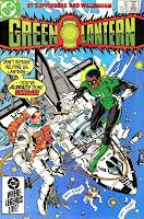 Green Lantern v2 #187 dc comic book cover art