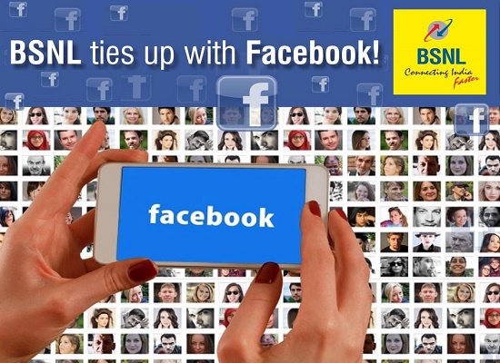 BSNL signed MoU with Facebook to provide Express WiFi broadband connectivity in rural India