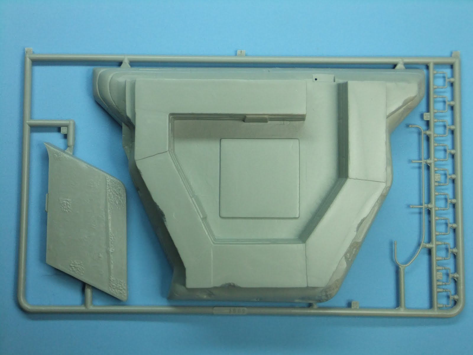 Plastic Models on the Internet: Kit review vol 1: AA/AT bunker