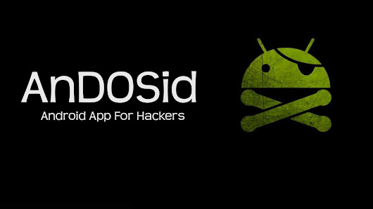 AnDOSid - Android App For Hackers