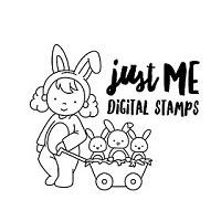 Just Me Digital Stamps