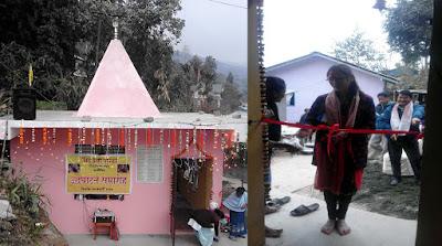 Singhdevi mandir opening