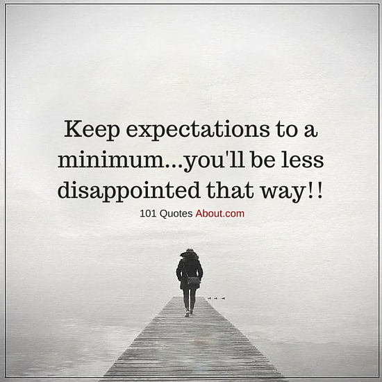 """Expectations Quotes"""