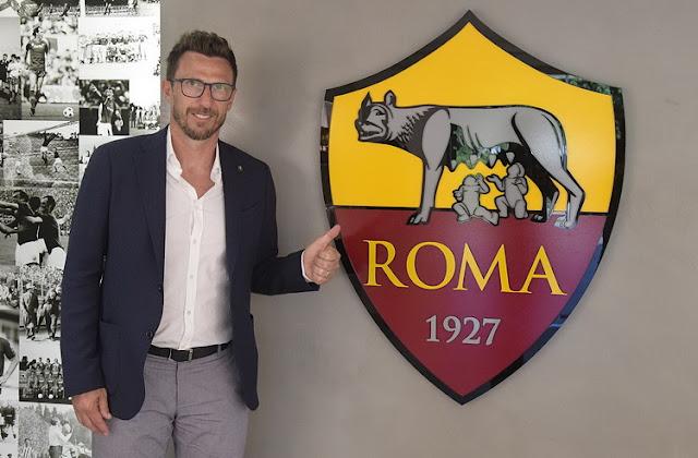 Eusebio Di Francesco resmi sebagai pelatih baru Roma