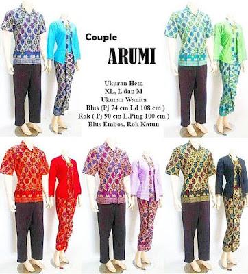 Grosir Batik Sarimbit Arumi