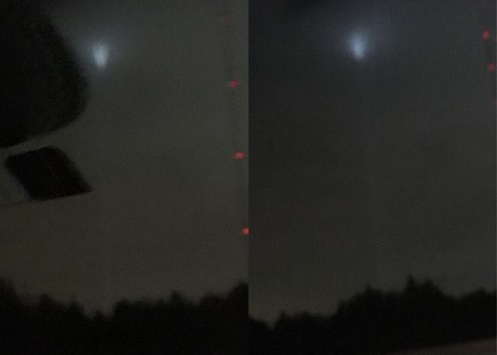 Avvistamento UFO a Edmond