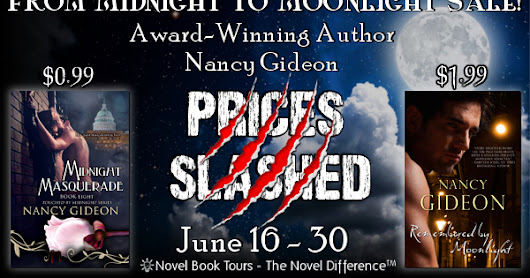 Novel Book Tours: From Midnight to Moonlight Sale! Books by Nancy Gideon