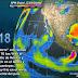 Desde la noche hasta el viernes, se prevén tormentas muy fuertes en regiones de Tamaulipas, San Luis Potosí, Veracruz y Chiapas