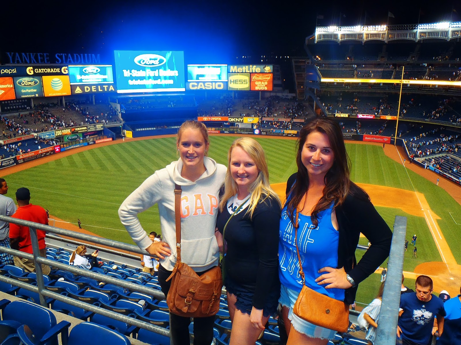 Girls at Yankee Stadium