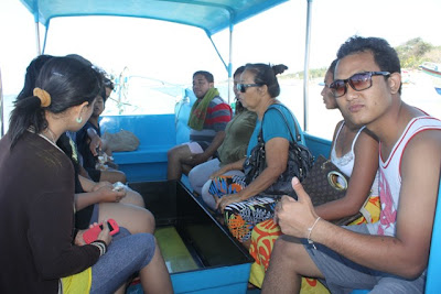 glass bottom boat pulau penyu tanjung benoa bali