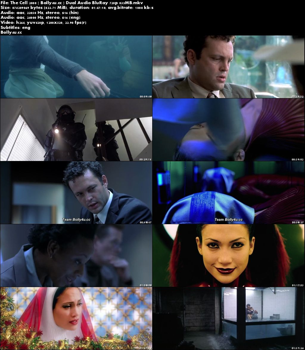 The Cell 2000 BluRay 250MB Hindi Dual Audio 480p Download