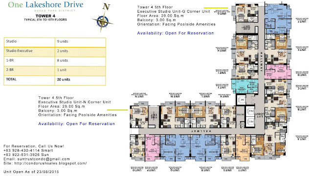 One Lakeshore Drive Tower 4 Executive Studio Unit
