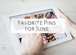 Five favorite pins of June