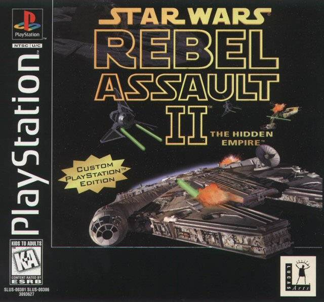 Star Wars - Rebel Assault II - The Hidden Empire - PS1 - ISOs Download