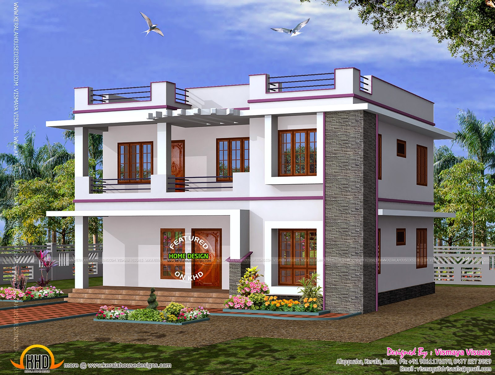 Awesome Alappuzha Home Design