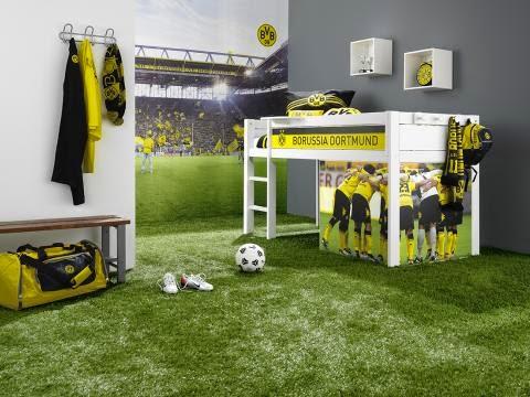 habitación temática fútbol