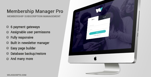 Membership Manager Pro v4.10 Free Download Nulled Script - Tricky360.in