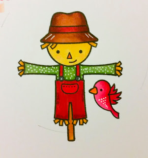 Scarecrow - Happy Harvest - Lawn Fawn