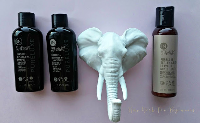 Intelligent Nutrients review Pureluxe Hair Collection