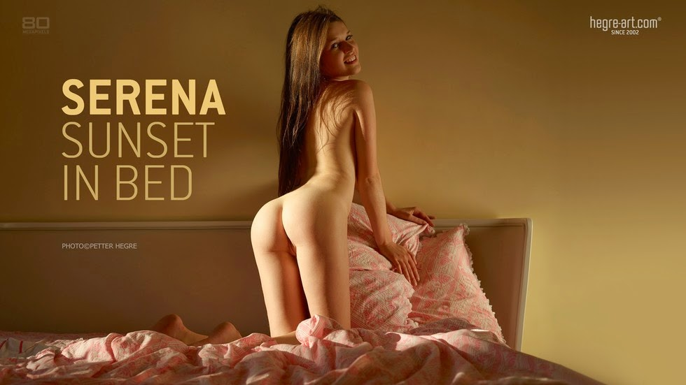 Qomkgre-Ari 2014-06-30 Serena - Sunset In Bed 07290
