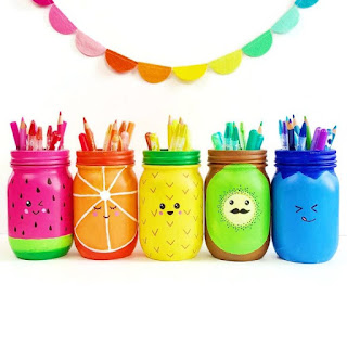 fruit mason jars